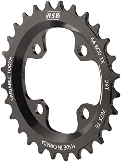 Best 28t 64 bcd narrow wide chainring Reviews