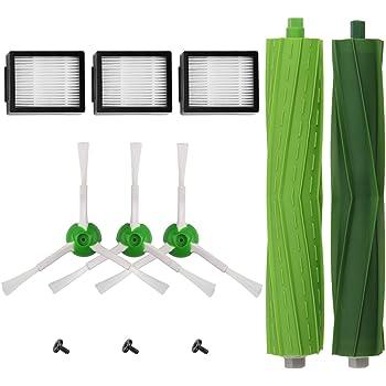 AplusTech Kit Recambios Repuestos y Accesorios Filtro, Cepillo Lateral y Rodillos Compatible con Aspiradora iRobot Roomba i7 i7+ y E5 E6 E7 -Pack de 11PCS: Amazon.es: Hogar