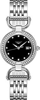 Longines Equestrian Collection Black Dial Diamond Womens Watch L6.131.0.57.6