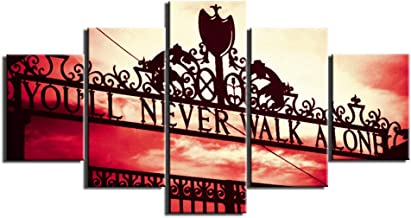 Liverpool FC You/'ll Never Walk Alone Poster New Maxi Size 36 x 24 Inch