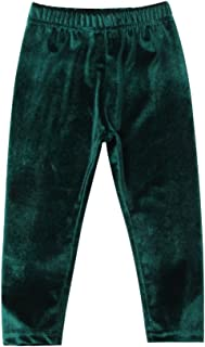 Kids Toddler Infant Baby Girl Velvet Warm Long Pants Leggings Solid Color Trousers