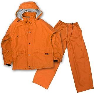 グランドスラムレイン (オレンジ/Sサイズ)8200 グランドスラムレイン バイク バイク用 レインウェア レインスーツ レインウェア 耐水 透湿 カッパ 雨具 レイン レイングッズ オレンジ,S
