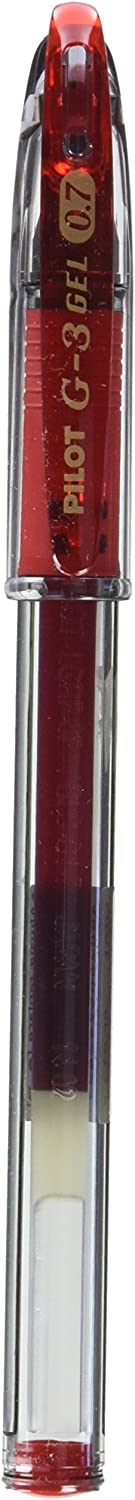Pilot G - 70% OFF Outlet 3 sold out Gel Rollerball 0.7 mm 12 Box Red of Tip