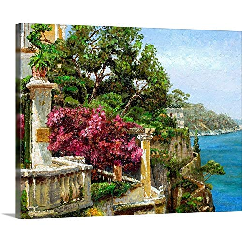 "GREATBIGCANVAS Serene Sorrento, 2006"" Canvas Wall Art Print, 45""x36""x1.5"""