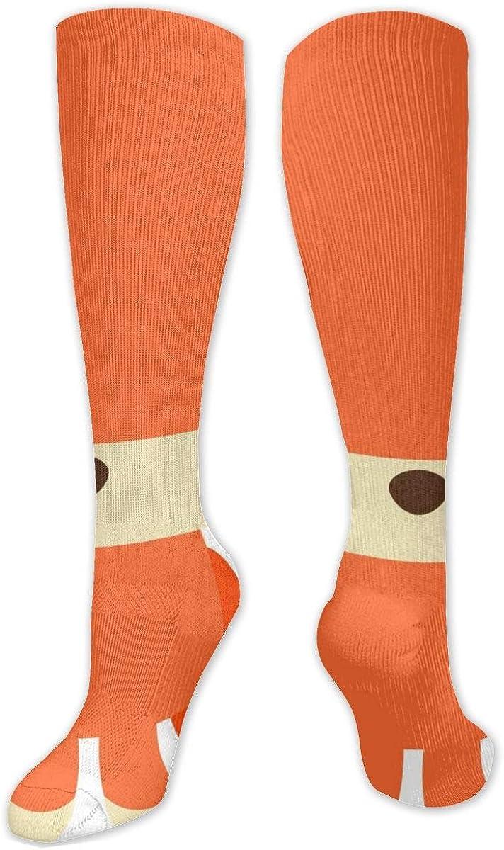 Baby Fox Woodland Animals Knee High Socks Leg Warmer Dresses Long Boot Stockings For Womens Cosplay Daily Wear
