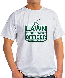 Lawn Enforcement Officer Ash Grey Cotton T-Shirt