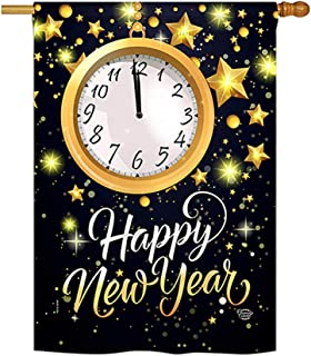Ornament Collection H192142-P3 New Year Countdown Winter New Year Impressions Decorative Vertical 28