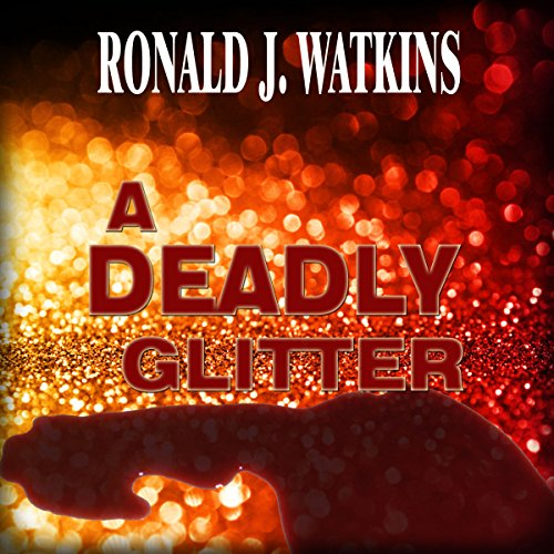 A Deadly Glitter audiobook cover art