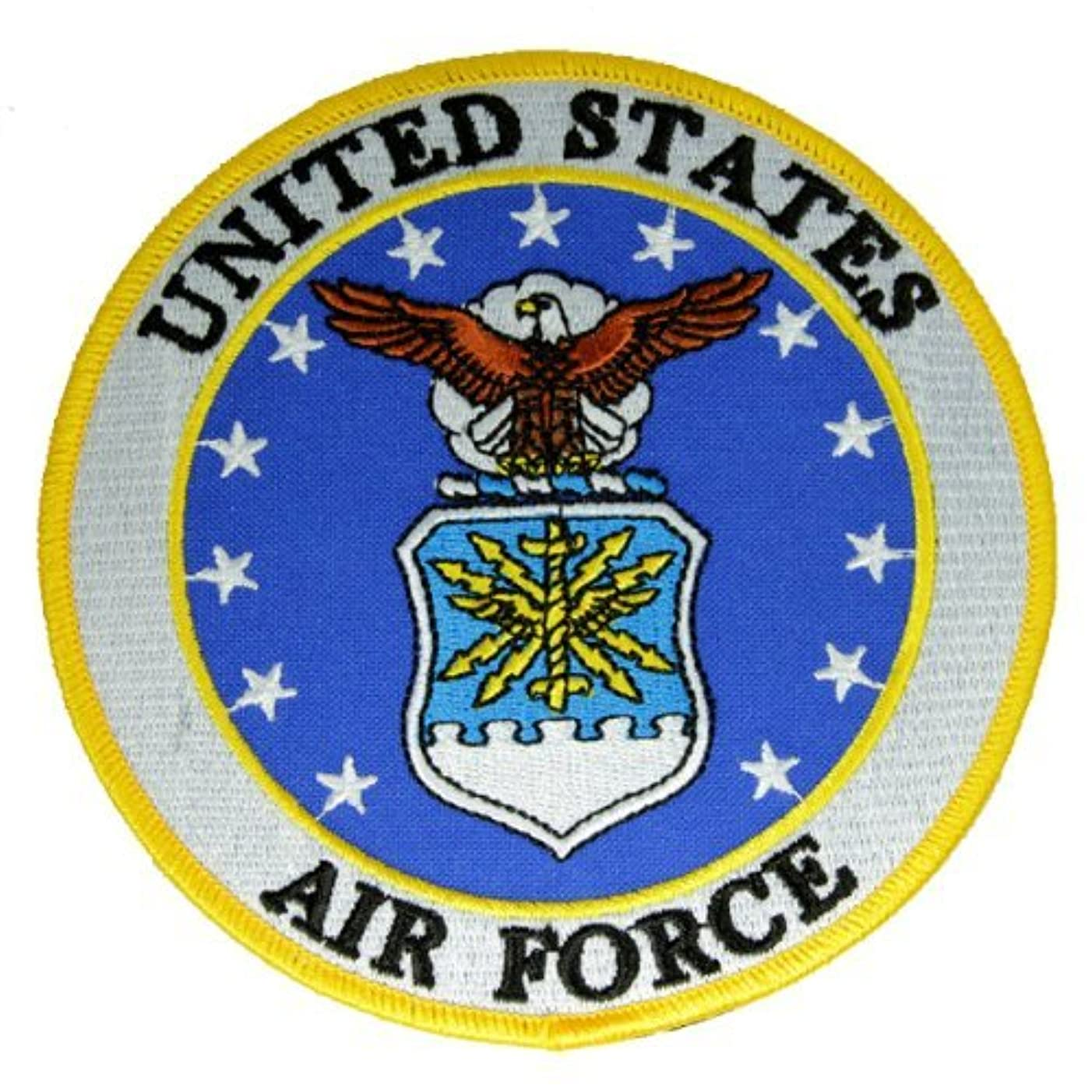 Embroidered Air Force Logo Patch 5 inches