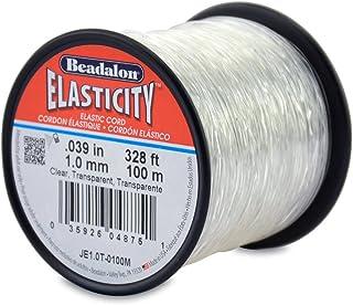 Beadalon Elasticity 1.0mm Clear, 100-Meter