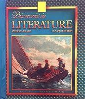 Discoveries in Literature: America Reads 067327067X Book Cover