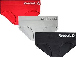Reebok Womens 3 Pack Seamless Hipster
