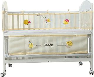 Yuena Care ベッドガード ベッドレール ベビーベッドフェンス ベビ 赤ちゃん ベッドバンパー ベッド ガード 通気性 掛け布団のずれ防止 オシャレ 丈夫 四方タイプ 取り付け 便利 可愛い