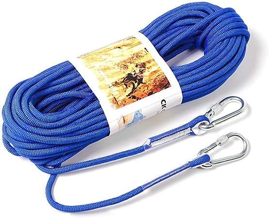 ZXCMNB Cuerdas de Escalada Montañismo Cuerda de Seguridad al ...