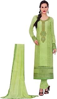 Designer Wedding Georgette Embroidered Long Salwar Kameez Suit India