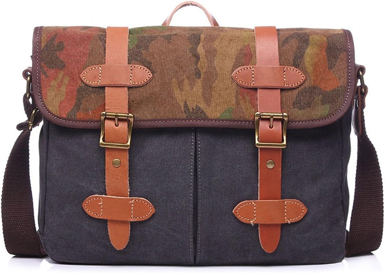 Peggy Peggy Peggy Gu Messenger Handtasche Einfache Retro Zipper Aktentasche Computer Tasche Leinwand Umhängetasche Messenger Bag Farbe  Grau Geschäftsorganisator B07JQSNZL6 6d2933