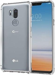 ZealBea Focus Funda LG G7 ThinQ, Funda Transparente Suave TPU Gel Funda de Silicona Flexible para LG G7 ThinQ [Amortiguación] [Antideslizante] [Resistente a los arañazos] [Air Cushion Technology]