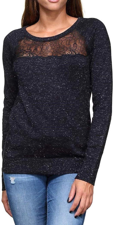 LE TEMPS DES CERISES  FINE Jersey Woman color Black FMERYLL