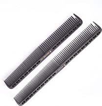SMITH CHU Professional Durable Space Aluminum Barber Combs for Hairdressing- New Salon Anti Static Hair Styling Comb Brush...