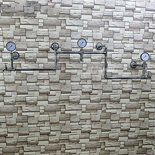 LXSnail Manguera de pared de la vendimia Percha de hierro Sala de estar Dormitorio Percha de pared de moda Perchero de ropa industrial de Feng Shui Perchero ( Color : B )