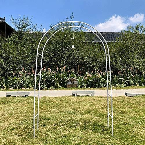 CPPI-1 Soporte para Flores con Arco de jardín Soporte con Marco de Flores para Jardines, hoteles, terrazas, Plantas trepadoras, decoración al Aire Libre, cenadores, (Necesita instalación Simple)
