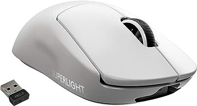 Logitech G PRO X Superlight Wireless Gaming Mouse, Ultra-Lightweight, Hero 25K Sensor, 25,600 DPI, 5 Programmable Buttons,...