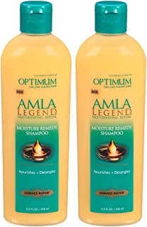 Optimum Care Salon Haircare Amla Legend Moisture Remedy Shampoo, 2 Count