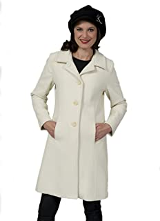 Coat Man Single Breasted Fitted 3/4 Jacket Collar Closes at Neck Or Opens to Revere Back Split