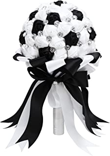 Best black and white bridesmaid bouquets Reviews