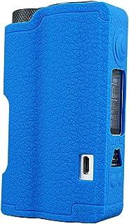 Dovpo Topside Case, DSC Mart Texture Silikon Cover für DOVPO Topside 90W Squonk Mod Schutzhülle Shield Wrap (dunkelblau)