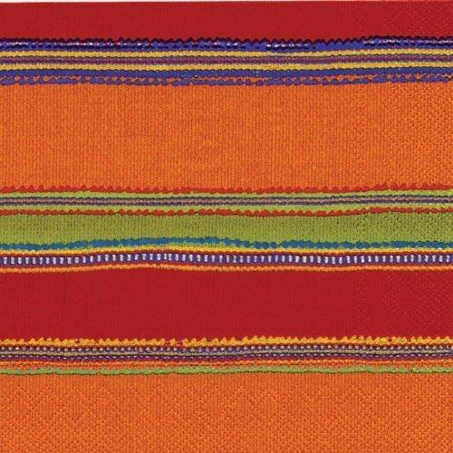 Ideal Home Range - Tovaglioli di carta a 3 veli, 40 punti, colore: Rosso Habanera by Boston International