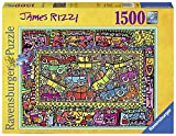 Ravensburger 16356 - James Rizzi: All that Love in the Middle of the City, Puzzle  (1.500 piezas)