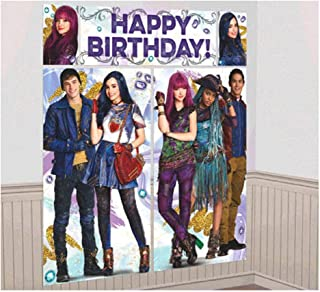 Descendants 2 Wall Poster Decorating Kit (5pc)