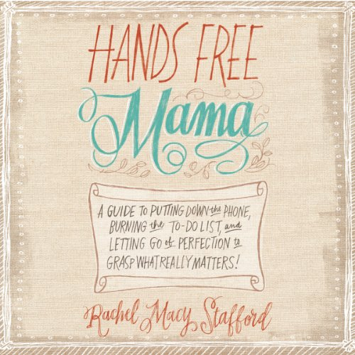 Hands Free Mama audiobook cover art