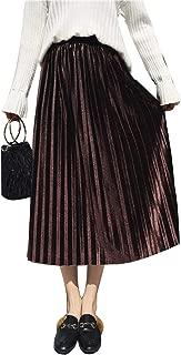 Best brown skirt elastic waist Reviews