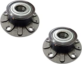 DRIVESTAR 512336x2 Pair:2 New Rear LH and RH Wheel Hub & Bearings for Audi A3 VW Golf GTI Rabbit