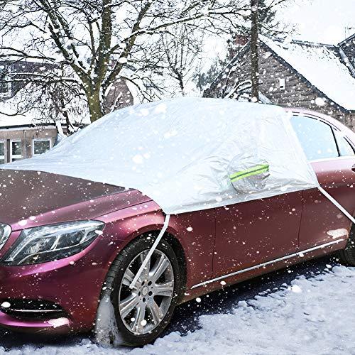 COFIT Windschutzscheiben Schneeabdeckung Abdeckung für Winter Frost EIS Schnee für Auto SUV Van Limousine