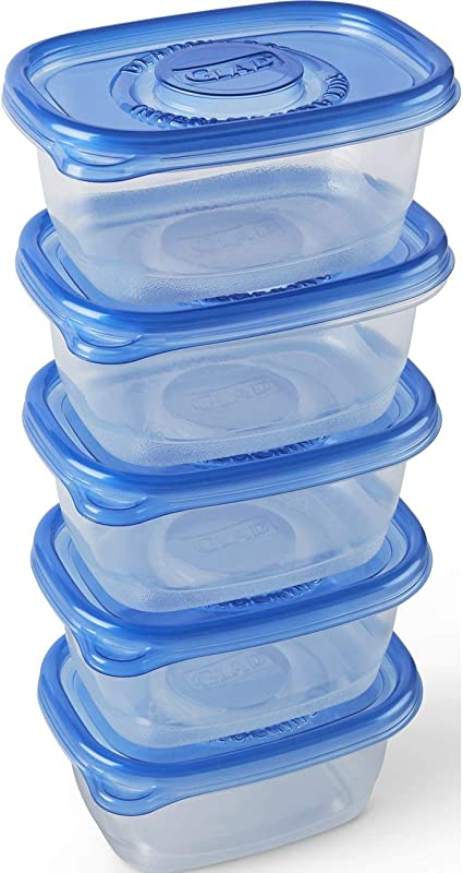 Glad Food Storage Containers Soup And Salad Containers 24 Ounce 5 Count