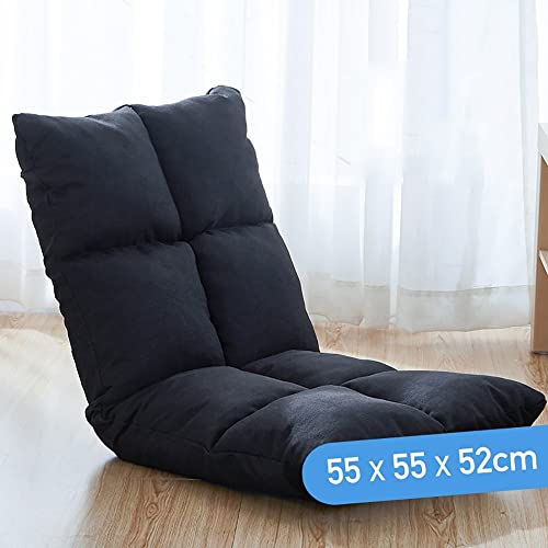 SF Faules Sofa Faul Sofa Einzelbett Rückenlehne Stuhl Boden Faltbare Schlafsofa Pastorale Stil 55  55  52 cm (Farbe   6 )