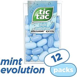 Tic Tac Fresh Breath Mints, Mint Evolution, 1 oz Singles, 12 Count