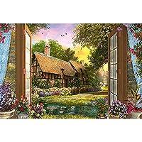 フィットネスバイク 有名な手描きの油絵の風景パズル、300,500,1000,1500ピース、DIYの風景パズル大人の子供パズル大ゲームの大手おもちゃパーソナライズされた贈り物 (Color : 500PCS)