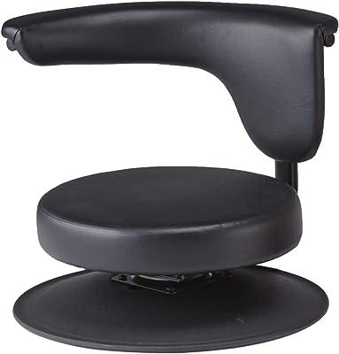 プロシード 座椅子 ブラック 幅50×奥行50×高さ40cm スタディチェアー PRO-111R ブラック PRO-111R