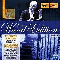 Gunter Wand Edition by WEBER BRAHMS (2006-05-16)