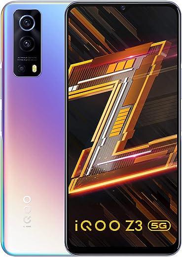 iQOO Z3 5G (Cyber Blue, 8GB RAM, 256GB Storage) | India's First SD 768G 5G Processor | 55W FlashCharge | Upto 9 Months No Cost EMI | 6 Months Free…