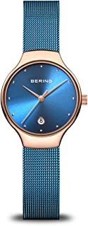 BERING Womens Analogue Quartz Watch with Stainless Steel Strap 13326-368