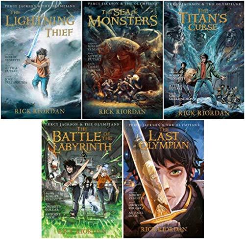 Percy Jackson Graphic Novels Set