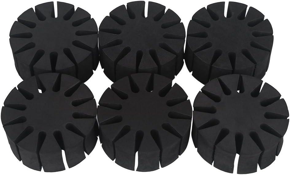 PBOHUZ Arrow Holder 6 Pcs Durable EVA Rack Max 41% OFF Round SEAL limited product Foam Sepa