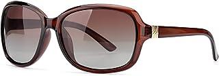 Oversized Polarized Sunglasses for Women, Classic Design Eyewear with 100% UV Protection Sun Glasses