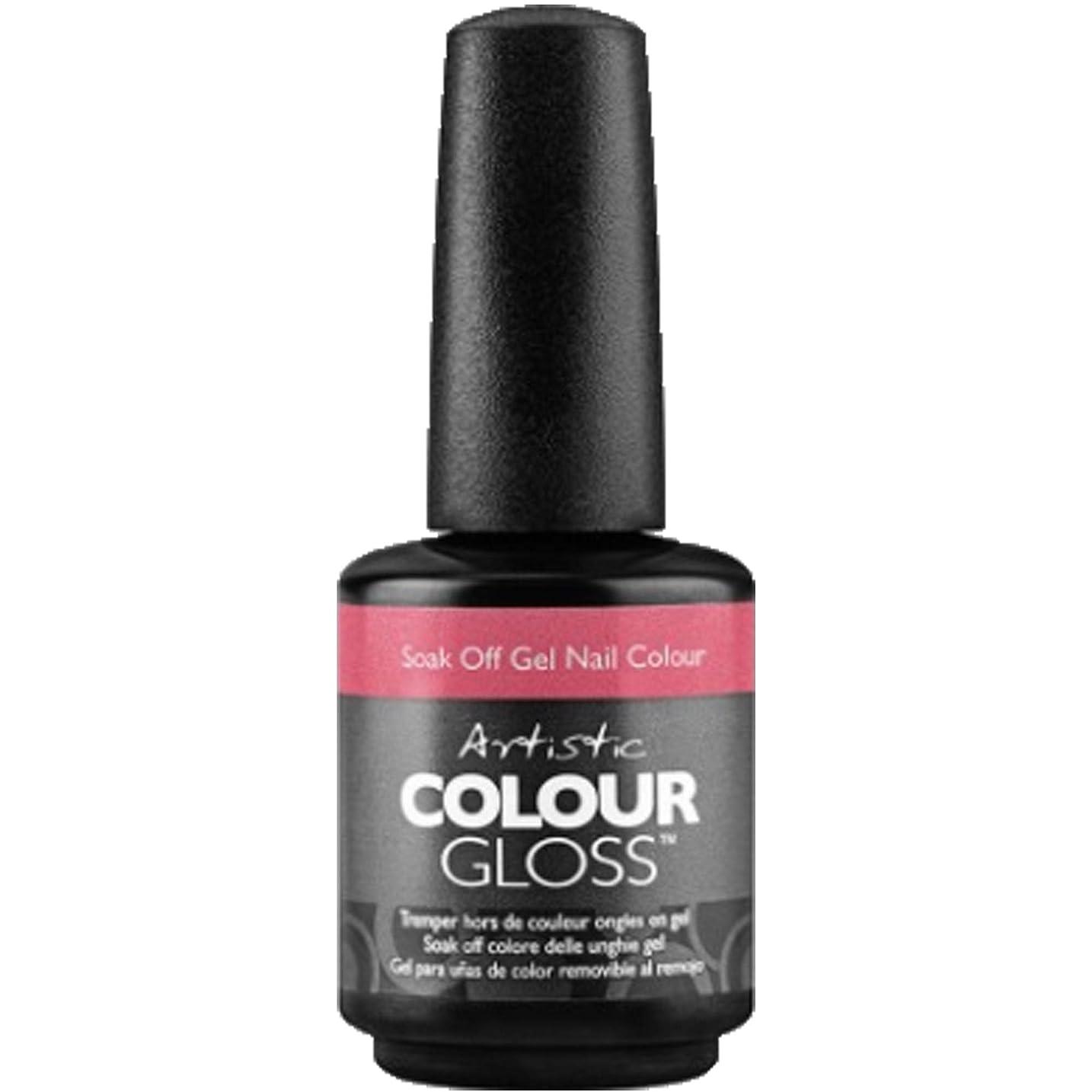 スリムとらえどころのないしないArtistic Colour Gloss - Everybody Flirts - 0.5oz / 15ml