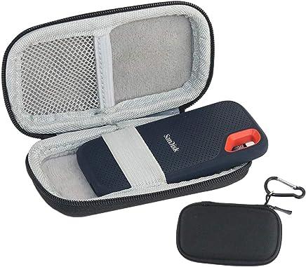 Annle Borsa da Trasporto con Custodia per SSD SanDisk 250GB / 500GB / 1TB / 2TB Extreme Portable SDSSDE60, Custodia Rigida - Trova i prezzi più bassi